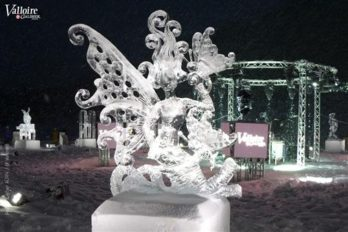 Ice sculpture, Valloire International Ice Sculpture competition.