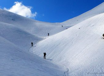 Ski touring © Undiscovered Alps