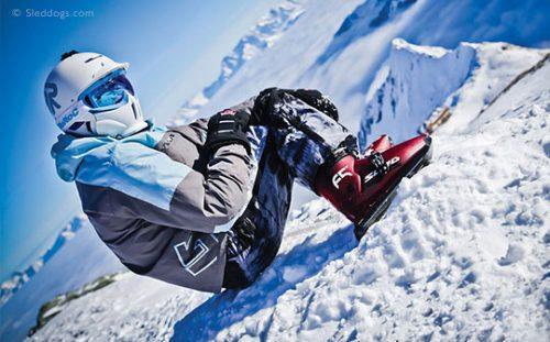 Sled Dogs snow skates