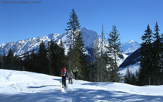 Snow-shoeing