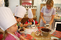 Chocolate workshop, Les Gets