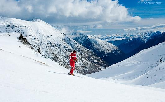 ESF skier, Piau Engaly