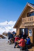 L'Op Traken mountain restaurant, Le Devoluy