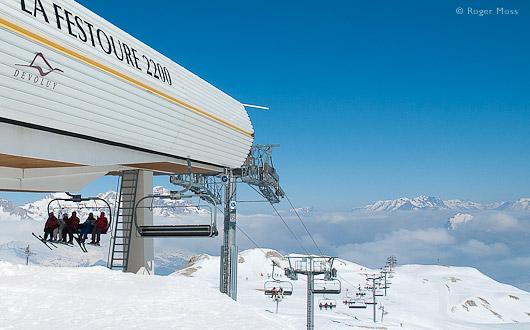 Le Devoluy ski lift