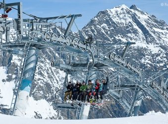 6 seater chairlift, Piau Engaly