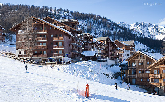 Ski-in ski-out accommodation, Puy-Saint-Vincent