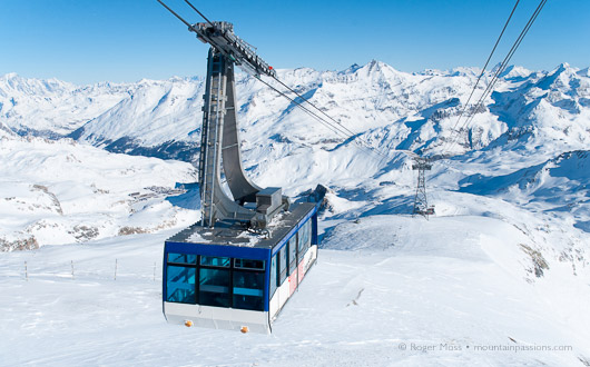 Grand Motte cable car, Tignes