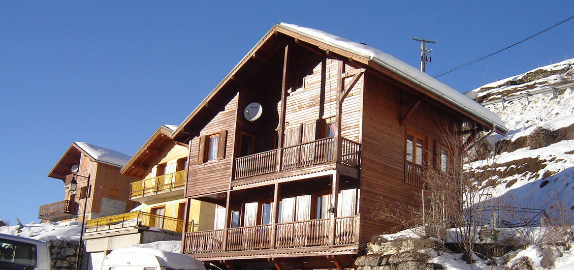 Chalet, purchased using currency exchange specialist