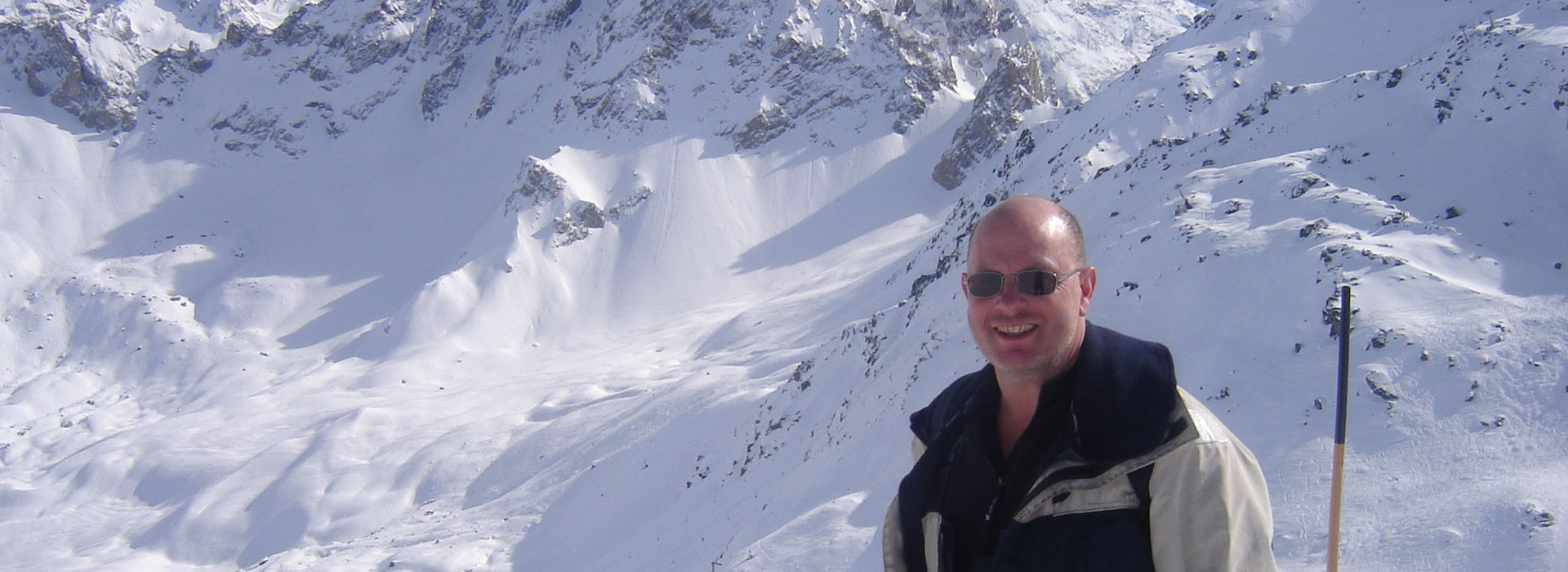 David Windall, mountain chalet owner, French Alps