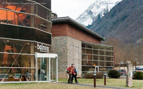 Balnéa thermal spa, Val Louron near Peyragudes, French Pyrenees