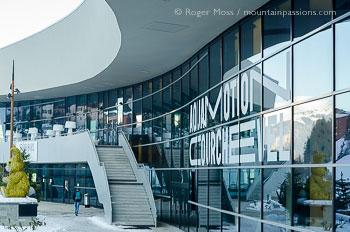 Exterior of Aqua Motion Centre, Couchevel