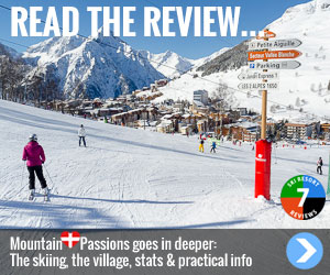 Read the review... MountainPassions goes deeper: The skiing, the village, stats and practical info