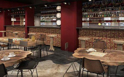 ho36 Les Menuires restaurant
