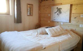 Trait d'Union, St Martin de Belleville bedroom