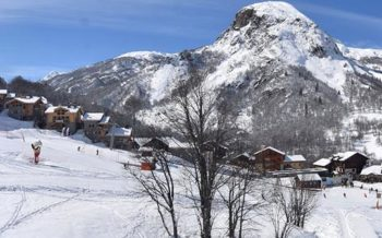 View to Chalets Caseblanche, St Martin de Bellevile, French Alps