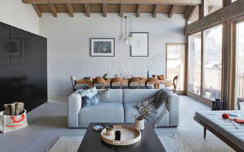Chalet Home interior, St Martin de Belleville, French Alps HomebyU.com