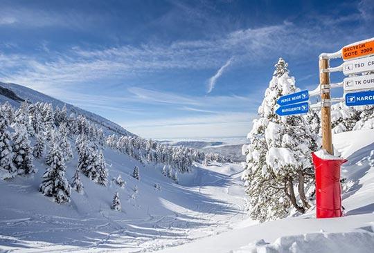 Villard-de-Lans ski resort, in the Vercors region of France