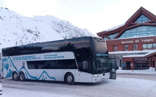 Coach Service from London to the Alps