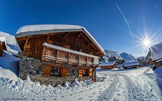 Ski Weekends ski chalet in Avoriaz, French Alps